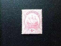 BERMUDA - BERMUDES - GRAND VOILIER   - 1922 - Yvert Nº 82 * MH - Bermudas