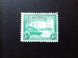 BERMUDA - BERMUDES - PORT HAMILTON - 1936 - Yvert Nº 92 º FU - Bermudas