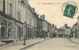 """/ CPA FRANCE 52 """"Saint Dizier, Rue Du Marché"""" - Saint Dizier"""