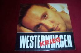 WESTERNHAGEN  °  KRIEG - Vinyl-Schallplatten