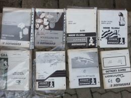 Evinrude - Evinrude\Johnson Motori Fuoribordo Cataloghi Ricambi Originali 1971-1979 Spare Parts Catalogs - Barche