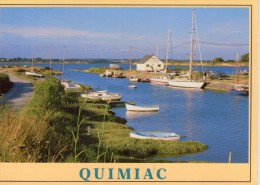Quimiac.. Mesquer.. Belle Vue Du Port De Kercabellec.. Bateaux.. Barques.. Voiliers - Mesquer Quimiac
