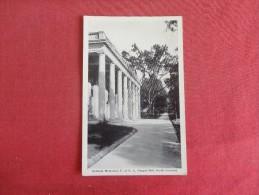 - North Carolina> Chapel Hill-- Graham Memorial  Reference 1662 - Chapel Hill