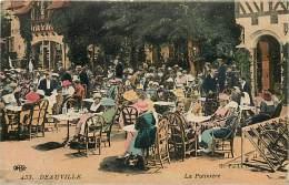 DEAUVILLE. LA POTINIERE. BELLA CARTOLINA DI INIZI '900 - Deauville
