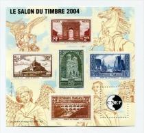 !!! BLOC CNEP N°41 SALON DU TIMBRE 2004 NEUF ** - CNEP