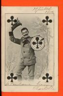 Cartes à Jouer - Trèfle - Année 1906 - Cartes à Jouer