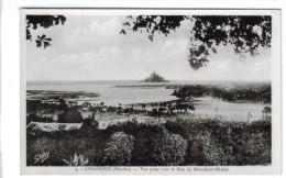 CPSM AVRANCHES (Manche) - Vue Prise Vers La Baie Du Mont Saint Michel - Avranches