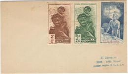 FRANCIA - France - Nouvelle Caledonie - 1942 - Poste Aérienne - Protection De L´Enfance Indigène + Quinzaine Impérial... - 1942 Protection De L'Enfance Indigène & Quinzaine Impériale (PEIQI)