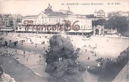(64) Biarritz - Casino Municipal - Excellent état - 2 SCANS - Biarritz