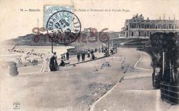 (64) Biarritz - Hôtel Du Palais Et Promenoir De La Grande Plage - Trés Bon état - 2 SCANS - Biarritz