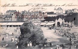 (64) Biarritz - Nos Bébés Sur La Plage - Le Rocher - Trés Bon état - 2 SCANS - Biarritz
