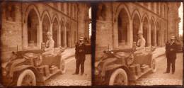 Guerre 1914 1918 Photo Stéreoscopique Militaire Automobile - Guerre, Militaire