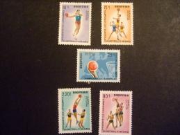 ALBANIA    1969   MICHEL 1368/72    MNH **   (IS39-NVT) - Basketball
