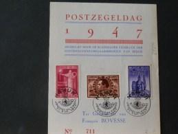 B/4232    DOC.  1947  OBL.  NAMUR - Belgien