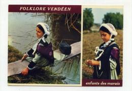 CP , FOLKLORE , Le Folklore Vendéen - Folklore