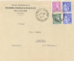 FRANCE. POSTMARK MULHOUSE. 1959 - Marcofilia (sobres)