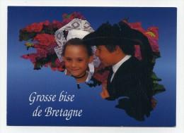CP , FOLKLORE , Enfants De Bretagne - Folklore
