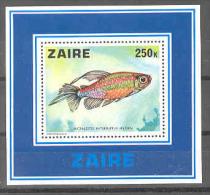 Fish 1978  COB BL25 MNH - Zaïre