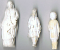 Lot 7 Fèves  Anciennes Plastique Dur - Anciennes