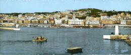 ALGER L´entrée Du Port Au Fond ,ALGER Centre ( Carte GRAND FORMAT )non Circulé - Algiers