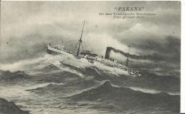 BATEAUX - PAQUEBOT - LE PARANA - Steamers