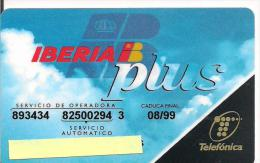 TARJETA TELEFONICA IBERIA PLUS - Tarjetas Telefónicas