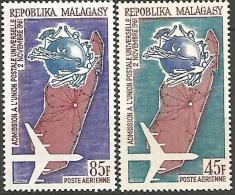 MADAGASCAR PA UPU N� 93/94 NEUF** LUXE