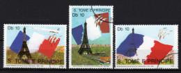 S.TOMÉ 1989 - 200. Jahrestag Der Französischen Revolution - MiNr. 1105-1107 Kompletter Satz - Franz. Revolution