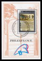 NICARAGUA 1989 - 200. Jahrestag Der Französischen Revolution - Block 187 - Franz. Revolution
