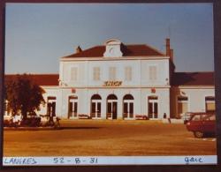1 Photo - Gare De LANGRES 4 Photos (gare Et Quais) - Treinen