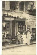 Carte Postale Ancienne Egypte - Le Caire. Street Scene. Un Magasin Indigène - El Cairo