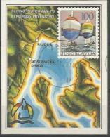 YU 1986-2169 EU CHAMPIONSHIP, YUGOSLAVIA, S/S, Used - Geographie