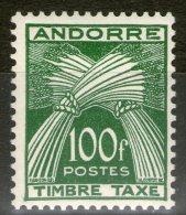 ANDORRE: Taxe N°41 **       - Cote 147€ -