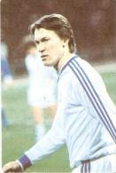 CALENDARIO DEL AÑO 1987 DE UN JUGADOR DE FUTBOL RUSO (CALENDRIER-CALENDAR) FUTBOL-FOOTBALL - Calendarios