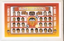 CALENDARIO DEL AÑO 1999 DEL VALENCIA (CALENDRIER-CALENDAR) FUTBOL-FOOTBALL - Calendarios