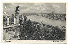 1927, Budapest - Kilàtàs A Vàrbòl. - Vista Dal Castello. - Hongrie