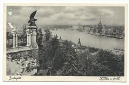 1927, Budapest - Kilàtàs A Vàrbòl. - Vista Dal Castello. - Ungheria