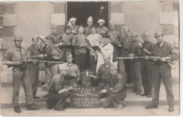 Cp France ?55 Eme R.A.L.P. P.H.R. Batterie 2eme Chambre Ci-git Le Pére-Cent Décedé 1 Juillet 1932 DU Profundis - Régiments