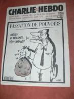 CHARLIE HEBDO 1995 N° 151  COUVERTURE  CHIRAC    /  WOLINSKI / SINE /  REISER / GEBE ETC ... - Magazines Et Périodiques