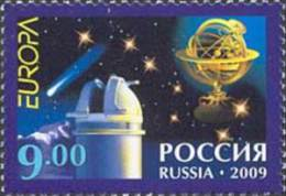 Russia 2009  Europa 2009. Astronomy.MNH - Unused Stamps