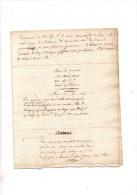 Po�me:Bonne Ann�e � mon ami Silly ,nouvellement mari� � Mlle Aline de Cassini.1809 & � mon ami Adrien Delahande.