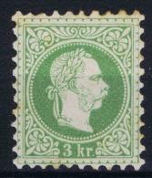 Austria: 1867   Yv nr 33 A perfo 9,50, MH/*