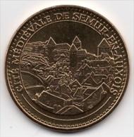 Semur En Auxois - 21 : La Cité Médiévale (Monnaie De Paris - 2013) - Monnaie De Paris