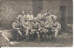 Militaire  Avec Leur Mascotte Chien à Kaldenhausen Duisburg - Juillet 1921 - War, Military