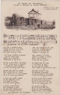 Cpa,le Tacot De Beaubery,paroles Et Musique De Joanny Furtin ,train Et Gare,millau,71