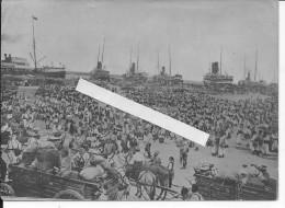 1915 Embarquement Des Troupes D'afrique En Algérie 1 Photo 1914-1918 14-18 Ww1 Wk1 WWI - War, Military
