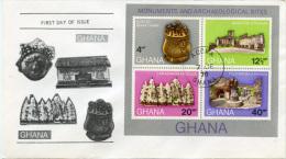 E230 FDC Ghana Block 41 - Ghana (1957-...)