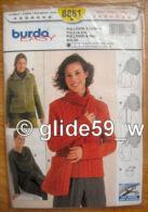 Patron Burda Easy - N° 8881 - Pullover & Tasche-Pulli & - Patterns