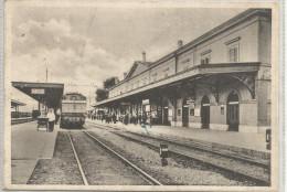 CARTOLINA STAZIONE ORTE FORMATO GRANDE VIAGGIATA - Trains