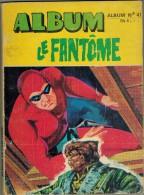 ALBUM CARTONNE SOUPLE LE FANTÔME N° 41 Année 1972 Edition Les Remparts TBE Regroupe Les N° 415 à 418 - Books, Magazines, Comics